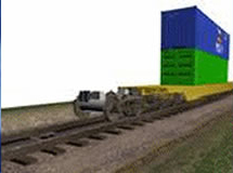 Port Container Moving System