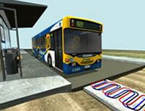 Induction-Charged Buses